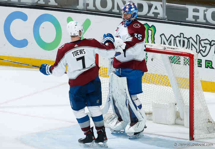 Johansson Makes His Case In First Career Shutout With Avalanche