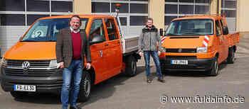 Neues Fahrzeug für den gemeindlichen Bauhof in Eichenzell - Fuldainfo
