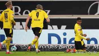 Wilder Schlagabtausch beim VfB: Joker Knauff kontert BVB zum späten Sieg