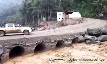 Huancabamba: restablecen el tránsito vehicular en el sector Chorro Blanco del distrito de Canchaque - El Regional