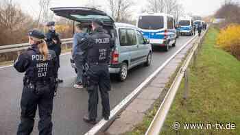Großaufgebot in Leipzig: 1700 Polizisten verhindern Querdenken-Demo