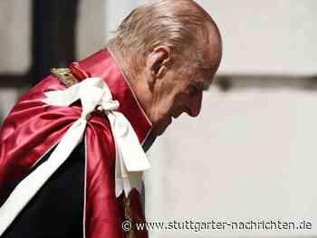 In Zeiten von Social Media - Royal Family nimmt mit stiller Geste Abschied von Prinz Philip - Stuttgarter Nachrichten