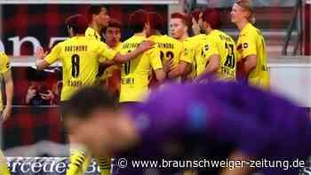 Erlöser Knauff: BVB wahrt kleine Champions-League-Chance