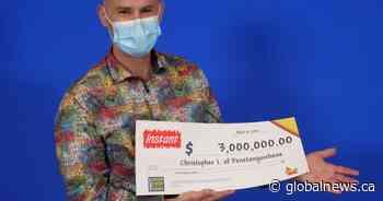 Penetanguishene, Ont., long-term care worker wins $3M in lottery - Globalnews.ca