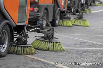 Spring road clean-up continues in Penetanguishene - OrilliaMatters