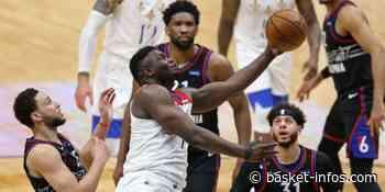 New Orleans bat Philadelphie, sans solution face à un énorme Zion ! - Basket Infos