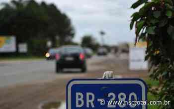 Obras da BR-280, em Araquari, têm previsão de receber recursos estaduais   NSC Total - NSC Total