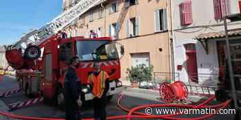 Un appartement totalement dévoré par les flammes à Cogolin - Var-Matin