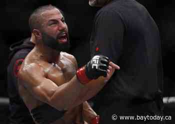 The Bull is back. Montreal lightweight John Makdessi scores upset UFC win
