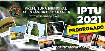 PREFEITURA MUNICIPAL DE CANANEIA PRORROGA PRAZO PARA PAGAMENTO DO IPTU 2021 - noticiasdecananeia.com.br