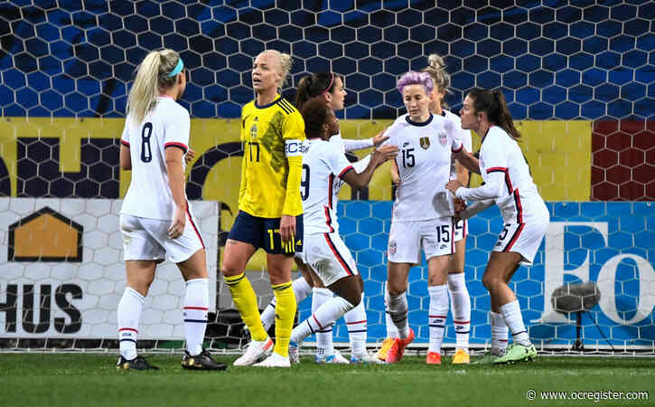 USWNT's win streak ends at 16 in 1-1 draw with Sweden