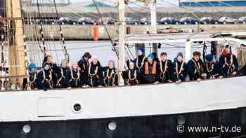 Nach halbem Jahr auf See: Schüler kehren mit Segelschiff heim