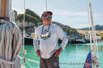 Master navigator and key Hokule'a crew member Chad Kalepa Baybayan shared Hawaii with the world