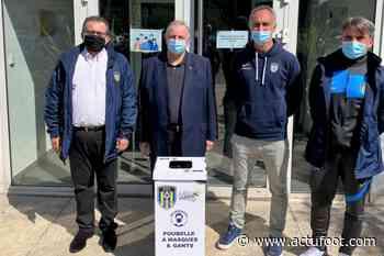 FO Ventabren : le club organise une collecte de masques et de gants usagés - Actufoot