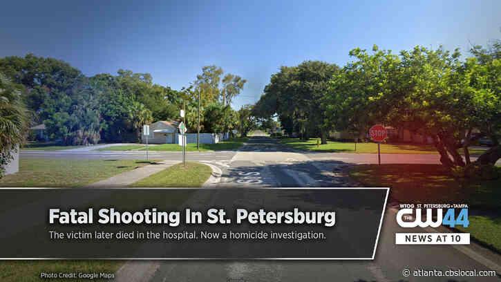 UPDATE: St. Pete Man Killed In Shooting Saturday Afternoon