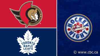 Hockey Night in Canada: Ottawa vs. Toronto
