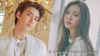 Sehun de EXO y Yura de Girl's Day confirmados para unirse a un nuevo drama coreano - Aire de Santa Fe
