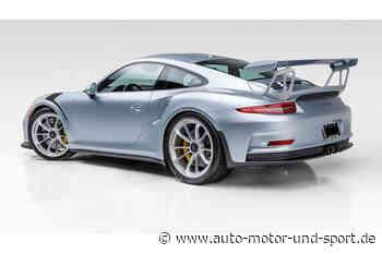 Auktion: Porsche 911 GT3 RS (991.1) von Jerry Seinfeld   AUTO MOTOR UND SPORT - auto motor und sport