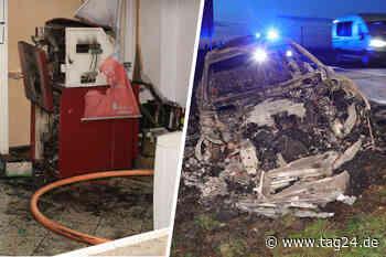 Dresden: Explosion in Klipphausen - Geldautomat in die Luft gejagt - TAG24