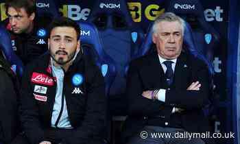 Mason Holgate praisesCarlo Ancelotti's son Davide as an 'unbelievable' coach