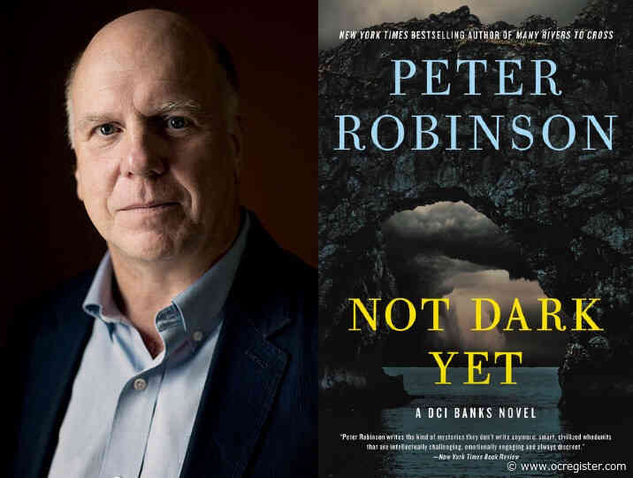 Inspector Banks author Peter Robinson talks 'Not Dark Yet' and writing in the pandemic