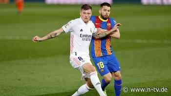 Real bezwingt Barcelona: Kroos trifft im Clásico per Freistoß