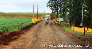 Mandaguari e Marialva apresentam proposta alternativa ao fechamento da Estrada Terra Roxa - O FATO MARINGÁ - AGÊNCIA DE NOTÍCIAS ONLINE