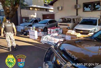 PM de Marialva desarticula quadrilha que furtava agrotóxicos - Agência Estadual de Notícias do Estado do Paraná