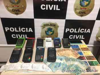 Preso suspeito de se passar por policial para aplicar golpes, em Goianira - Dia Online