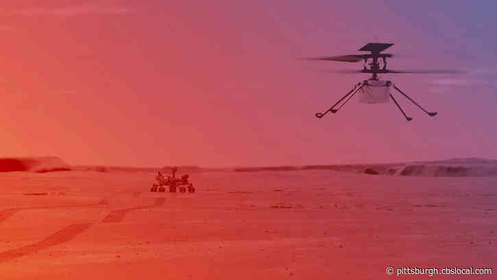 NASA's Ingenuity Helicopter's First Flight On Mars Delayed