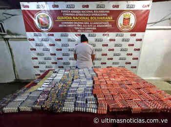 GNB detiene en Clarines a mujer con contrabando de medicinas - Últimas Noticias
