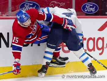 Liveblog: Habs and Jets scoreless after first period