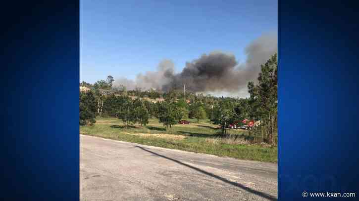 75-acre wildfire in Bastrop County prompts evacuations for nearby residents
