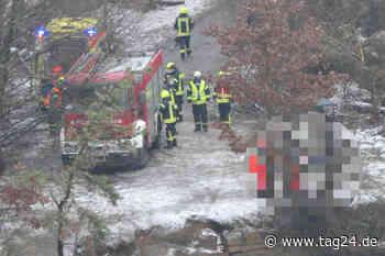 Leipzig: Schrecklicher Fund! Toter in Steinbruch bei Brandis entdeckt - TAG24