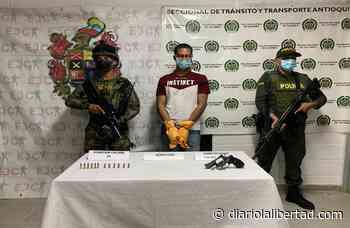 Capturan en Tarazá a alias Pipe, quien pertenecería al Clan del Golfo - Diario La Libertad
