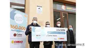 Conad dona 10.600 euro alla Caritas di Siena - LA NAZIONE