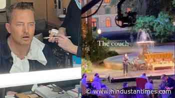 Inside Friends Reunion shoot: Jennifer Aniston's friend, Matthew Perry share glimpses of the set - Hindustan Times