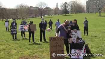 Stop Asian Hate Rally Held in Hartford