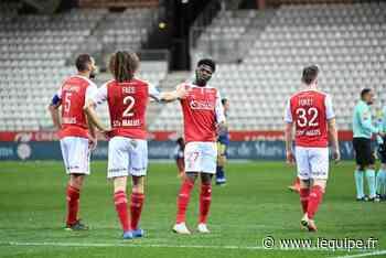 Peu d'absents du côté de Reims pour le déplacement à Nice en Ligue 1 - L'Équipe.fr