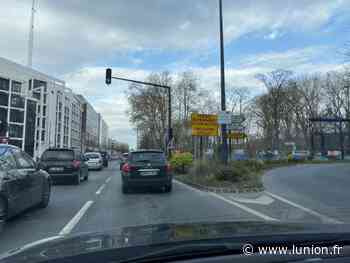 Dès lundi 12 avril, circulation perturbée boulevard Roederer à Reims - L'Union