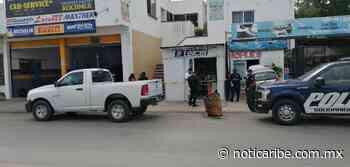 Abren boquete para robar negocio en Playa del Carmen - Noticaribe