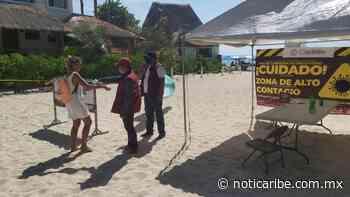 Siguen activos los filtros sanitarios en arenales de Playa del Carmen - Noticaribe