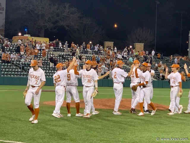 Texas Longhorns sophomore Ivan Melendez is unstoppable at the plate
