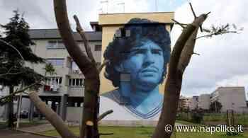 Murale per Maradona a Frattamaggiore: l'opera dedicata a Diego - Napolike