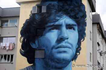 Frattamaggiore: un murale in omaggio a Diego Armando Maradona - 2a News