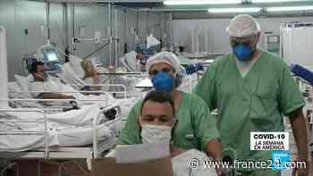 Covid-19, la semana en América - Sudamérica enfrenta una nueva ola de contagios de coronavirus - FRANCE 24