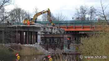 B77 in Rendsburg: Ende April beginnt Neubau der Eiderbrücke – Rad- und Fußweg länger gesperrt als geplant | shz.de - shz.de