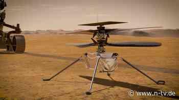 Technische Probleme: Nasa verschiebt Heli-Flug über den Mars