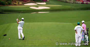 Hideki Matsuyama Charges Into the Lead at the Masters