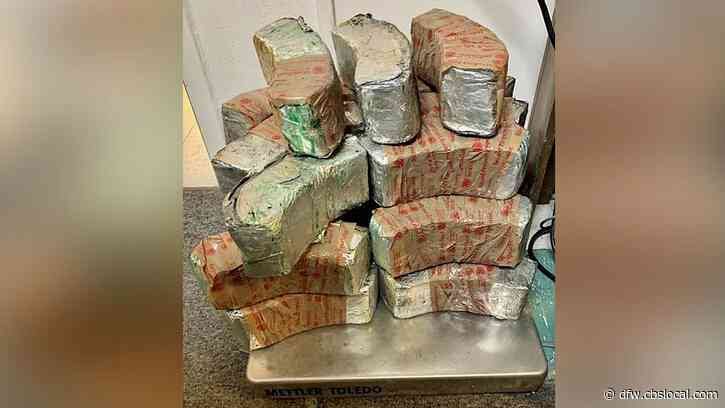 Customs Officers Seize Narcotics At Texas-Mexico Border Worth $1.8M+ Hidden In Tires, Ice Chests